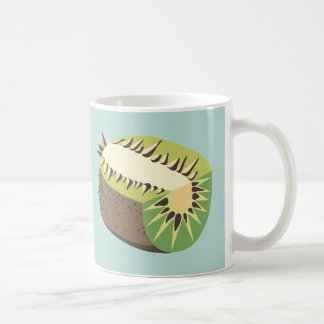 Caneca De Café Kiwi fruit illustration