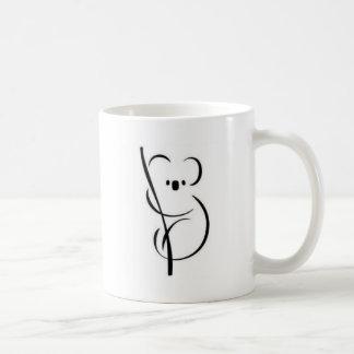 Caneca De Café Koala minimalista