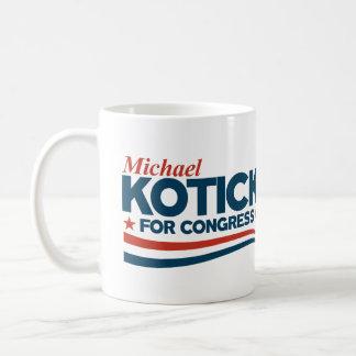 Caneca De Café Kotick - Michael Kotick para o congresso
