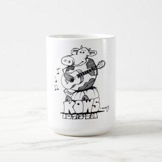 Caneca De Café Kows mug.jpg do logotipo do rato de Stanley,
