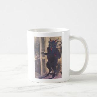 Caneca De Café Krampus que recolhe a família