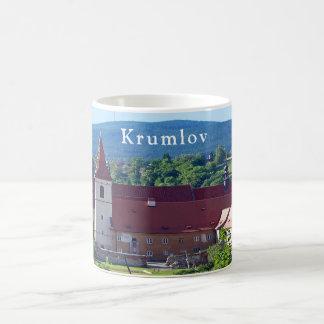 Caneca De Café Krumlov. Paisagem além do tempo