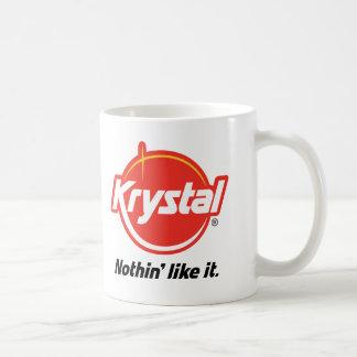 Caneca De Café Krystal Nothin gosta d