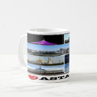 Caneca De Café KZ Kazakhstan - Astana -