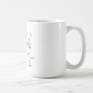 Caneca De Café l-dopa e dopamina