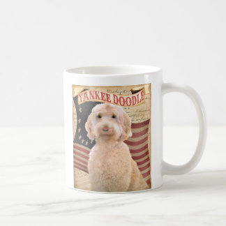 Caneca De Café Labradoodle, bernadoodle, retrato do cão