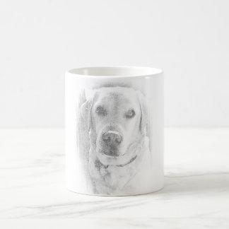 Caneca De Café Labrador taça *grau