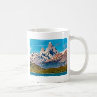 Caneca De Café Lago e montanhas de Andes, Patagonia - Argentina