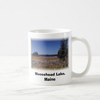Caneca De Café Lago Moosehead, Maine