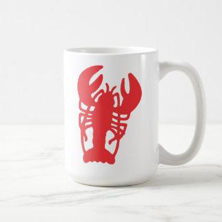 Caneca De Café Lagosta vermelha