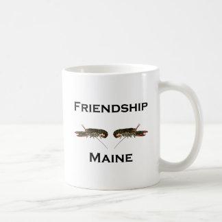 Caneca De Café Lagostas de Maine da amizade