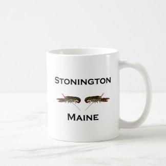 Caneca De Café Lagostas de Stonington Maine