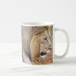 Caneca De Café Leão africano