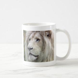 Caneca De Café Leão branco