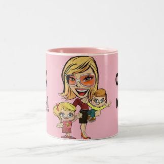 Caneca de café legal do design da mamã do