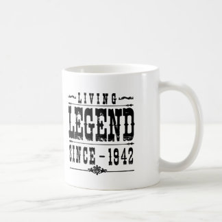 Caneca De Café Legenda viva desde 1942