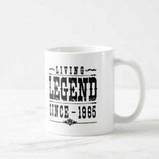 Caneca De Café Legenda viva desde 1965