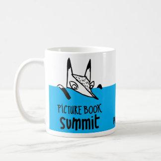 Caneca De Café Lembranças da cimeira do livro ilustrado
