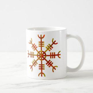 Caneca De Café Leme do símbolo de Viking dos noruegueses do