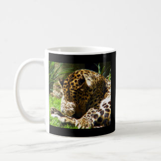 Caneca De Café Leopardo tímido