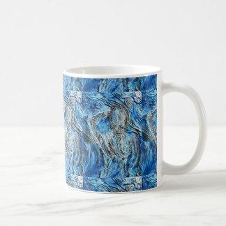 Caneca De Café Levantamento Textured da mulher