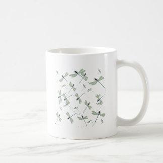 Caneca De Café libélulas no sol