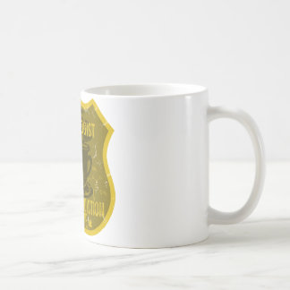 Caneca De Café Liga do vício da cafeína do cardiologista