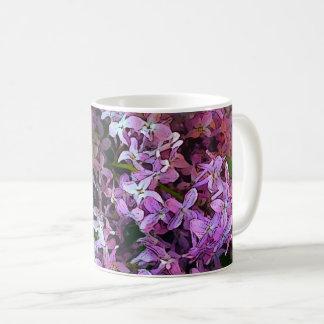 Caneca De Café Lilacs Painterly