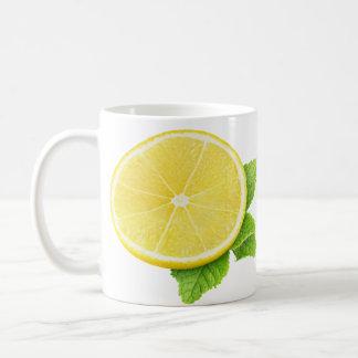 Caneca De Café Limão e hortelã