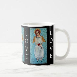 Caneca De Café Limite pelo anjo do amor