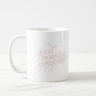 Caneca de café lindo 11oz ou 15oz do bom dia