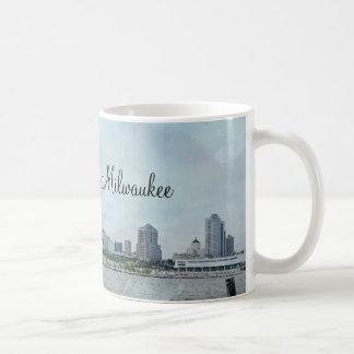 Caneca De Café Linha costeira de Milwaukee