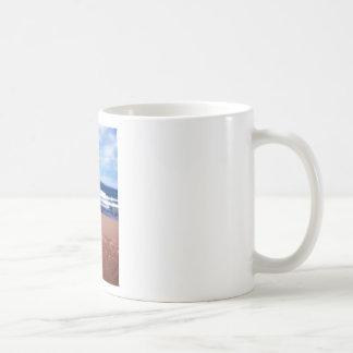 Caneca De Café Linha costeira do Lago Superior
