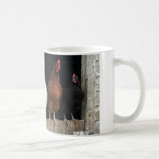 Caneca De Café Linha da galinha