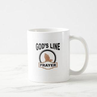 Caneca De Café linha oração dos deuses
