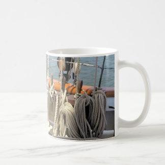 Caneca De Café Linhas do veleiro