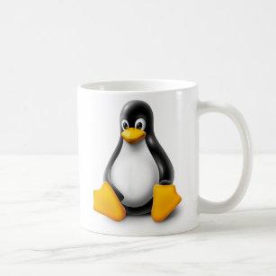 Caneca De Café Linux Tux o pinguim