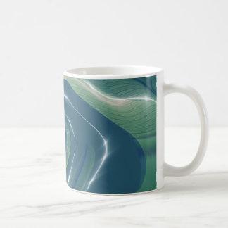 Caneca De Café Liquid Gnarly Fractal