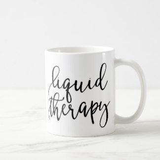 Caneca de café líquida engraçada das citações da