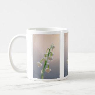 Caneca De Café Lírio das flores do vale