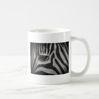 Caneca De Café Listras da zebra