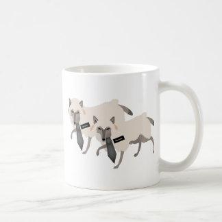 Caneca De Café Lobos nos carneiros