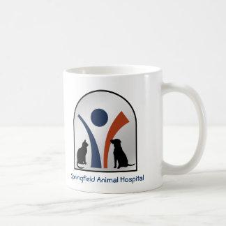 Caneca De Café Logotipo animal veterinário feito sob encomenda