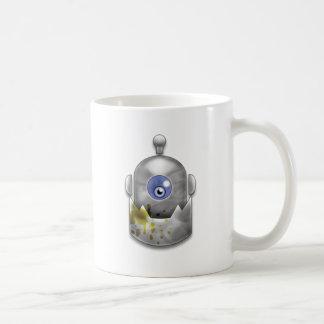 Caneca De Café Logotipo ávido do robô