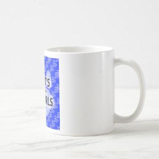 Caneca De Café Logotipo azul Podcast AIGTA