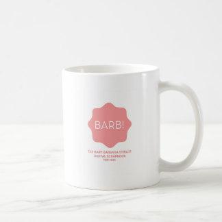 Caneca De Café Logotipo cor-de-rosa
