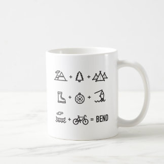 Caneca De Café Logotipo da equação das atividades de Oregon da