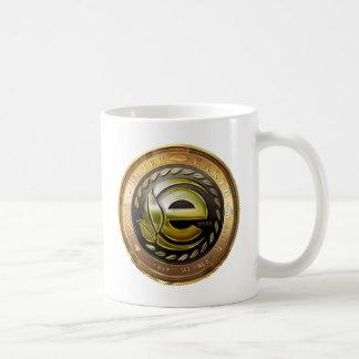 Caneca De Café Logotipo de Earthcoin