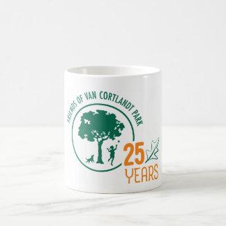 Caneca De Café Logotipo do aniversário de FVCP 25o