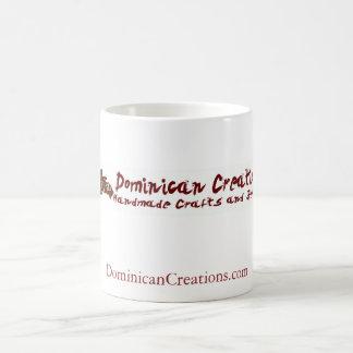 Caneca De Café logotipo, DominicanCreations.com